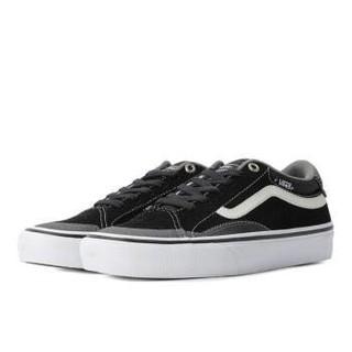 VANS 范斯 中性运动帆布鞋 VN0A3TJXY28 黑白 44