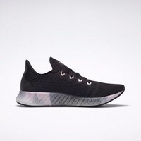 Reebok锐步运动健身女子运动鞋FLASHFILM 2.0 GR低帮跑步鞋EH2681 EH2681_黑色/像素粉红色 36