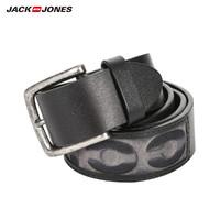 JackJones 杰克琼斯 21915O504 男士立体字母合金针扣皮带