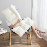 舒飘儿 可调节护颈枕 白色 44*67cm