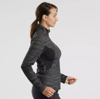 DECATHLON 迪卡侬 SH500 女士运动T恤 160633-8502071 黑色 XS