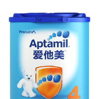 Aptamil 爱他美 德国进口 爱他美 儿童配方奶粉 4段 36-72个月 800g*2罐