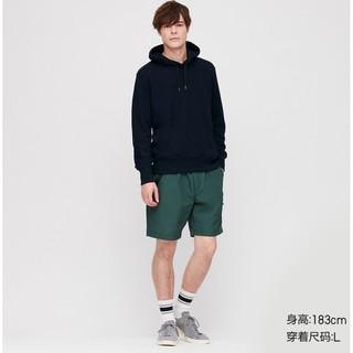 优衣库 男装 连帽运动衫(长袖)(卫衣) 419501 UNIQLO