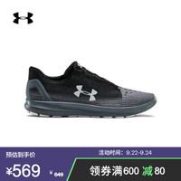 安德玛官方UA Remix 2.0男鞋运动鞋休闲鞋Under Armour3022466 黑色002 41