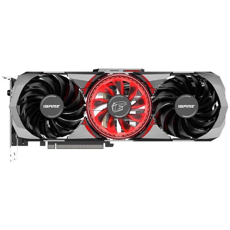 COLORFUL 七彩虹 iGame GeForce RTX 3080 Advanced 10G 1710Mhz GDDR6X 电竞游戏电脑显卡