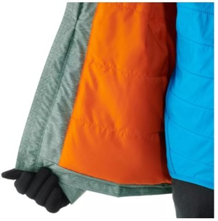 DECATHLON 迪卡侬 QUECHUA HIKE 100 儿童防雪保暖夹克 8504376 卡其色 130cm