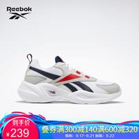 Reebok锐步 运动经典 EC RIDE 4男女低帮休闲鞋FV0305 FV0306_白色/灰色/蓝色 42