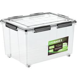 清野の木 透明塑料收纳箱 12L