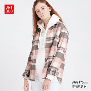 UNIQLO 优衣库  421607 女士衬衫长袖
