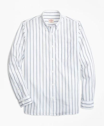 Brooks Brothers Double-Stripe Broadcloth衬衫