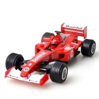 乐加酷  儿童玩具合金车F1大号回力方程车模型