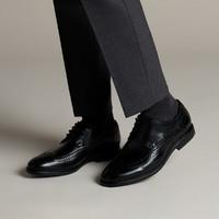 其乐男鞋布洛克鞋Banbury Limit商务正装皮鞋