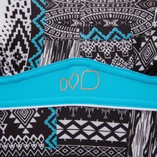 DECATHLON 迪卡侬 KAIPEARL PERS 女士裙式连体泳衣 13705-8546330 黑色