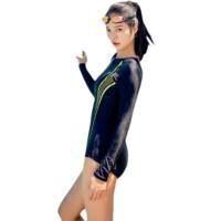 361° 女士泳衣 SLY191011-2 荧光绿