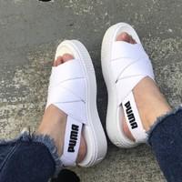 PUMA 彪马 Platform 365478 女子凉鞋