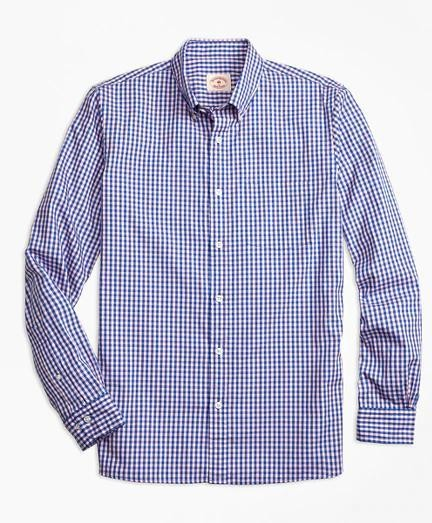 Brooks Brothers Gingham Batiste Oxford衬衫