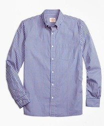 Brooks Brothers 布克兄弟 格子纹牛津衬衫