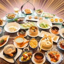 周末节假日通用!上海淳大万丽酒店万丽轩中餐厅午市粤式点心任点任食