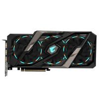 技嘉 GeForce RTX 2080Ti雕牌 AORUS 11G DDR6 台式机电脑游戏显卡 2080TI AORUSX 11G大雕