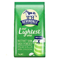 Devondale 德运 脱脂高钙成人奶粉 1KG