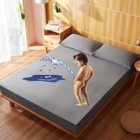 索隆家纺 纯棉防水床垫保护套 床笠款 1.5m床