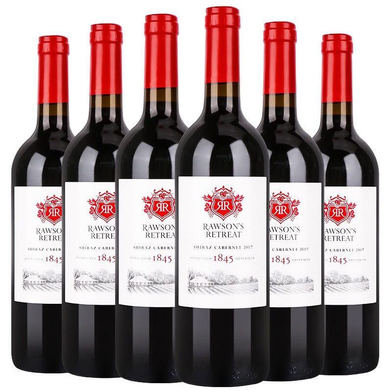 Penfolds 奔富 设拉子赤霞珠干红葡萄酒 750ml*6瓶
