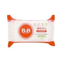 B&B 保宁 婴儿天然抗菌甘菊洗衣皂 200g *5件