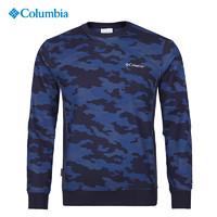 哥伦比亚Columbia城市户外男热能反射保暖套头迷彩卫衣PM3159 *2件