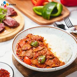 希杰 嗨拌速食拌饭 方便米饭 黄焖鸡+爆香牛肉 2盒装