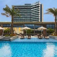 享SNP!海口万丽酒店 高级房1晚 含早餐 免费高尔夫体验 海洋世界门票