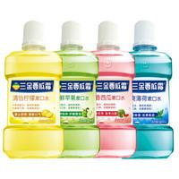 三金 西瓜霜漱口水 果香型 500ml*4瓶装 *2件