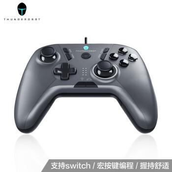 雷神(ThundeRobot)游戏手柄电脑PC吃鸡外设神器有线即插即用switch摇杆方向盘 G30战斧游戏手柄