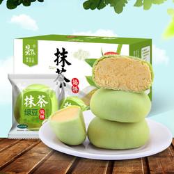 景森 抹茶绿豆饼 500g