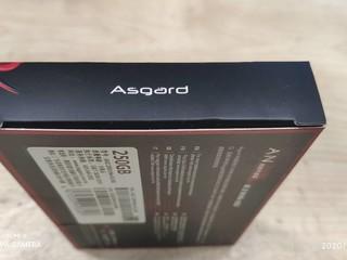 Asgard固态硬盘m2nvme280g