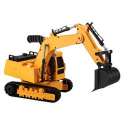 双鹰 1:20手动工程车  E232-002挖掘机 *3件