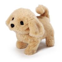 星珀 触摸发声儿童电动仿真狗毛绒玩具泰迪会叫走路智能机器狗