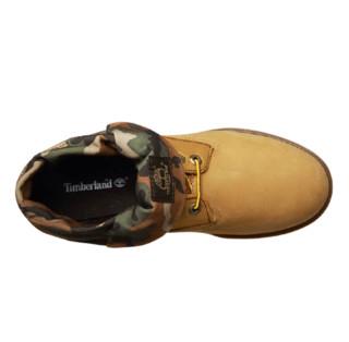 Timberland 添柏岚 男士中帮低跟系带迷彩工装靴A11FV