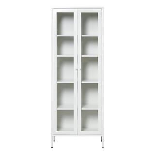 YDD YD-JFS 亚克力双门储物柜 牛奶白 180*30*65.2cm
