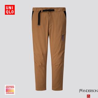 限尺码 : UNIQLO 优衣库 422109 设计师合作款 HEATTECH 男士休闲裤