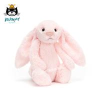 英国jellycat邦尼兔粉色兔子毛绒安抚玩具可爱公仔抱枕生日礼物