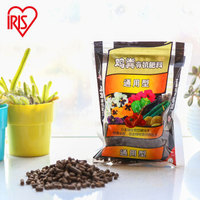 爱丽思IRIS 鸡粪有机肥(通用肥)植物/蔬菜肥 改良土壤营养肥料 1KG