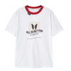 PEACEBIRD 太平鸟 女士纯棉圆领印花短袖T恤AWDA82365