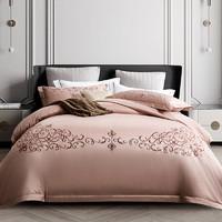 康尔馨 北欧风纯棉四件套 粉色 200*230cm