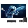 峰米 4K Max 激光电视 100英寸菲涅尔硬屏幕布套装