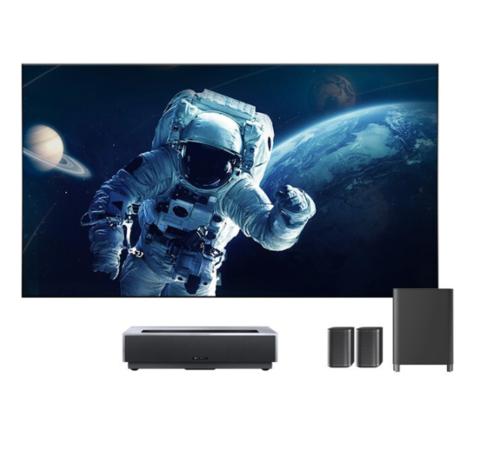 峰米  4K Max 激光电视 含100寸菲涅尔抗光硬屏