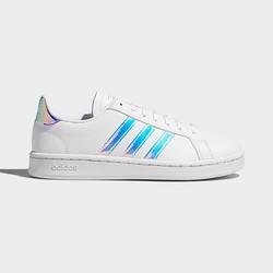 adidas 阿迪达斯 NEO GRAND COURT EE9689 女士 镭射尾小白鞋