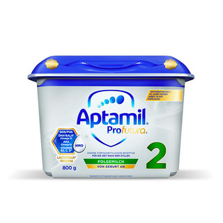 Aptamil 爱他美 婴儿奶粉 2段 800g/罐(6-12个月)