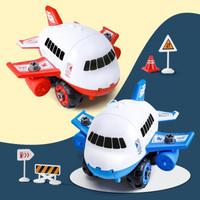 婴乐星 飞机套装 惯性拆装 1飞机+4消防车+11图标