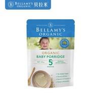 BELLAMY'S 贝拉米 婴幼儿辅食 婴儿高铁营养米粉  125g/袋  *5件