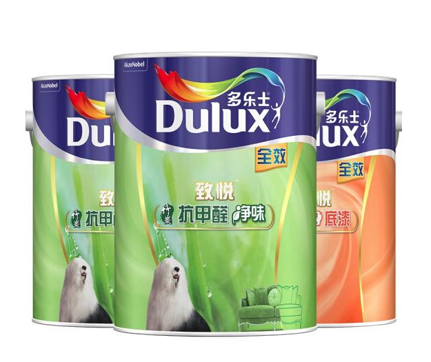 Dulux 多乐士 A742 A748 致悦 竹炭抗甲醛净味漆套装 15L